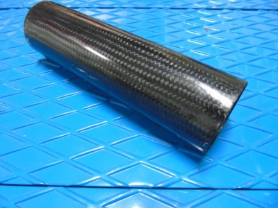 Carbon fiber 2 stroke exhaust can